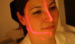 Laser-Ausrichtung